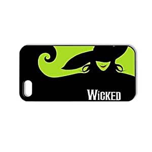 GJYWicked Pattern Plastic Hard Case for iPhone 5/5S