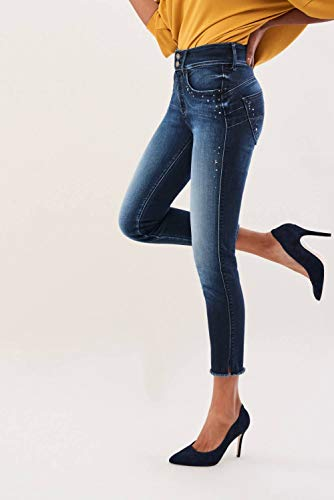 Level Rivetti Jeans 1st Capri Secret Salsa Azzuro EXqPwFzxz