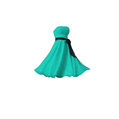 UPC 519534597653, Fashion Plaza Halter Bridesmaid Formal Evening Cocktail Party Dress D0022 (US4, Lake green)