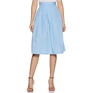 Amazon Brand – Eden & Ivy Cotton Pleated Skirt