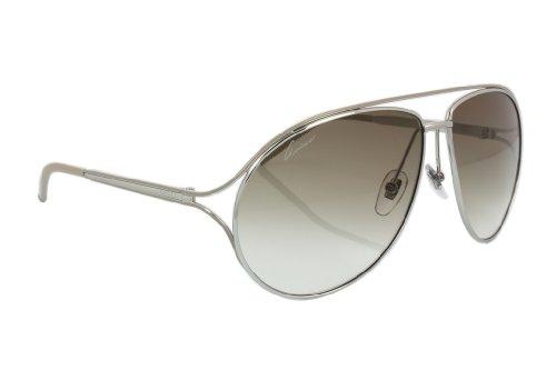 544e5514fd5 ... Havana Brown Brown Gradient Lens Rectangle.  419.95 · BUY · - 50%. Gucci  Sunglasses GG 4216 S SILVER KT6XY GG4216