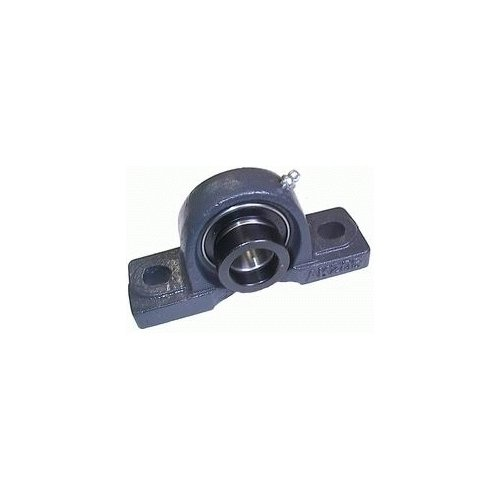 Big Bearing HCAK213-40 Pillow Block Bearing with Lock Collar, 2-1/2'' Shaft Size, 10.44'' Length, 2.76'' Width, 5.87'' Height, Iron