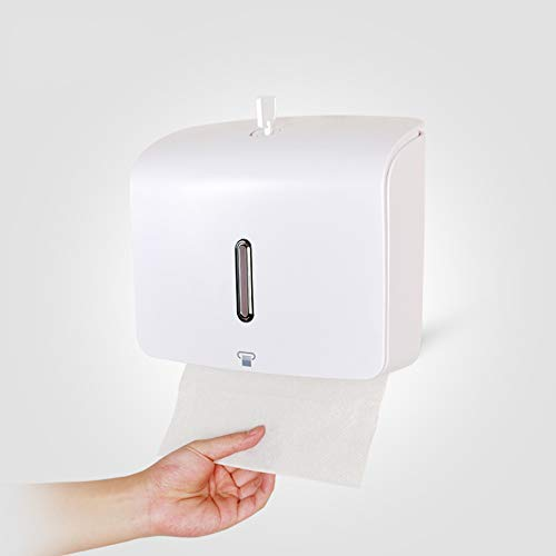 ca33b204116 TOTAL HOME™   Wall Mounted ABS Plastic Toilet Paper Holder Bathroom Hand  Paper Holder Paper Towel Dispenser Tissue Box  Amazon.in  Home   Kitchen
