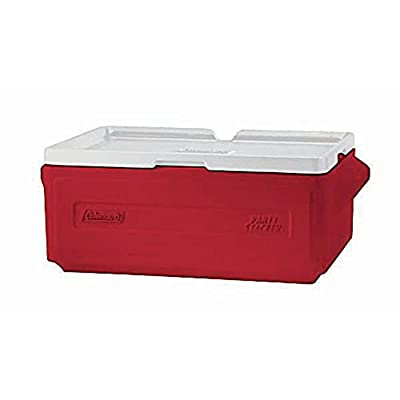 """Coleman Stacking Coolers 22""""L x 13 1/2""""W x 8 3/8""""H Green"""