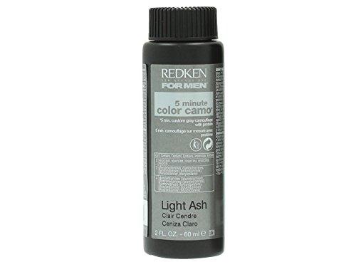 Redken 5 Minute Camo Hair Color, Light Ash , 2 Ounce