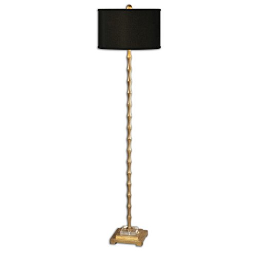 By Uttermost Quindici Metal Bamboo Floor Lamp