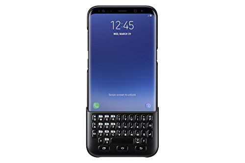 - Samsung Galaxy S8+ Keyboard Cover , Black