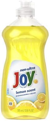 Joy Non-Ultra Dish Liquid 12.6Oz Lemon Scent (Package May Vary) Pack of 3