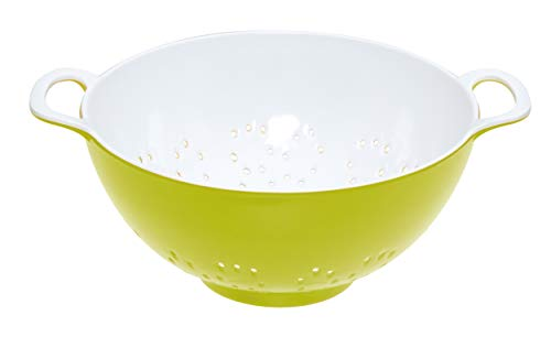 Kitchencraft Colourworks Melamine Colander, 15cm - Green ()