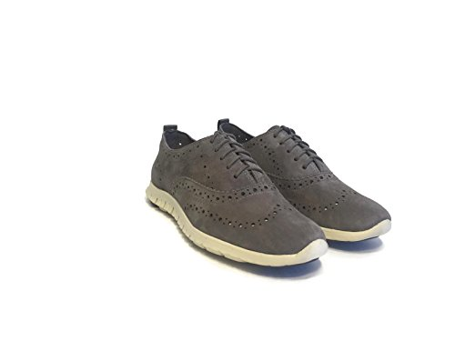 Zerogrand Haan OX Stormcloud Oxford Wing Cole Suede 7 Black Suede Women's UK 5 fwqdEHg
