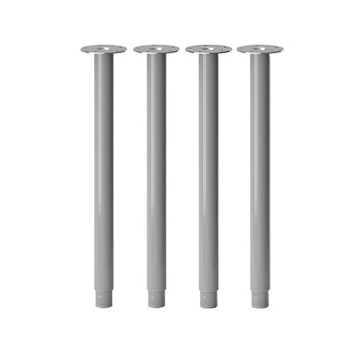 IKEA OLOV Adjustable Table Leg - SET of 4 - Steel Silver (X4)  sc 1 st  ICUIL & IKEA OLOV Adjustable Table Leg - SET of 4 - Steel Silver (X4 ...
