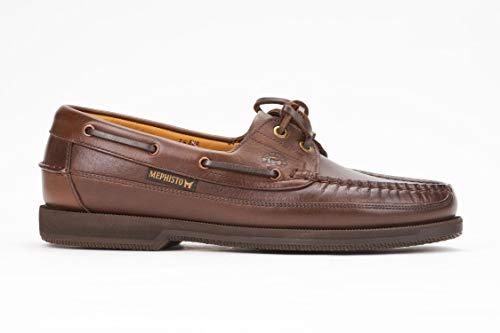 Mephisto Men's Hurrikan Moccasin Brown Leather 44.5 (US Men's 10.5)