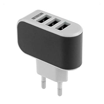 SQUAREDO Cargador USB de Pared de 1 PC, teléfono de Viaje de ...