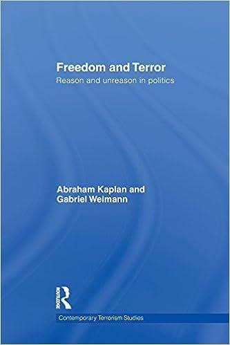 freedom and terror weimann gabriel kaplan abraham