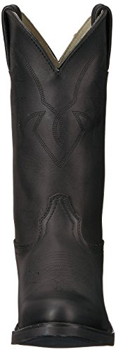 Boot D070 Black Durango Oiled 5 Leather M Size D Western UK TR760 6W7ABZ
