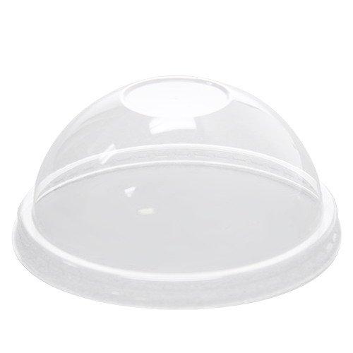 Dome Containers Lid (Karat C-KDL116-PET 16 oz PET Food Container Dome Lids (Case of 1000))