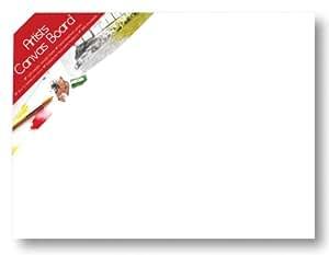 Artbox Lienzo - Papel de estraza (40 x 30 cm), blanco