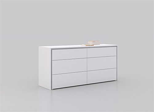 amazoncom casabianca furniture zen collection lacquer dresser white kitchen dining casabianca furniture dolce collection lacquer dresser white
