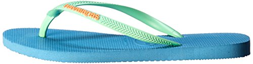 US B Havaianas Rose Women's Flip Blue Slim Sandals Tropical BR Splash 5 35 6 Flip M Orchid r6A7r