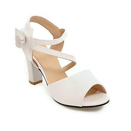 Ballerine EU EYR00101 White Aimint 35 Bianco Donna 41qxvwT