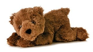 Small Eco Brown Bear 7.5 by Aurora