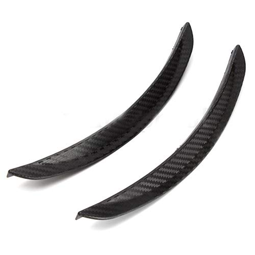Academyus 1Pair 24.5cm Soft PVC Fender Flares Arch Wheel Eyebrow Guard Kit for Car Truck by Academyus (Image #2)