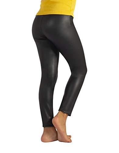 bellezza classico scarpe da ginnastica a buon mercato CALZITALY Leggings Pelle Bambina | Pantaloni Finta Pelle Bimba | 4 ...