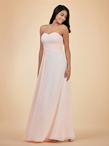 Evening Sleeveless for Bridesmaid Dress Women Dress Alicepub Light Strapless Blue Long Party Dress wzCqfzITaW