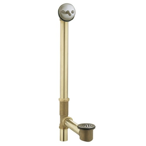 Moen 90480BN Trip Lever Bath Waste for Whirlpool Tubs, Brushed Nickel