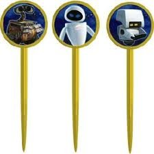 (Wall E Party Picks 12 Pack)