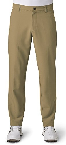 adidas Golf Men's Adi Ultimate 3 Stripe Pants, Khaki, Size 3