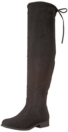 Spur Co Women's Boot Knee Brinley Black The Over qHEw6nf