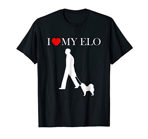 I love my Elo t-shirt dog mum dad unisex pet gift idea (Best Gift Ideas For Mum)