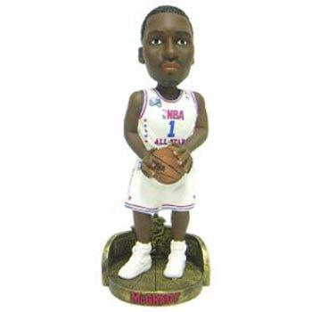 Forever Collectibles NBA Orlando Magic Mens Orlando Magic Tracy McGrady 2003 All-Star Uniform Bobblehead, Team Colors One Size