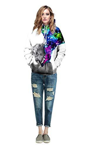 3d Giovane Lunga Laterali Alta nbsp; Coppia Cappuccio Qualità Autunno Moda Unisex Tasche Manica Casual Primaverile Hoodie Felpa Con Animalier Colour Sweatshirt Elegante 15 Di Stampa Felpe nUZtz