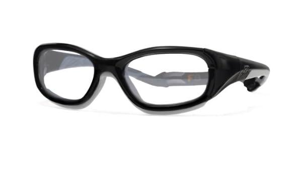 c996fec791 Amazon.com  Rec Specs RS SLAM Glasses - Black Grey  Clothing