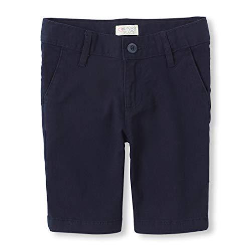 - The Children's Place Big Girls' Uniform Shorts, Tidal 3301, 10