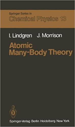 Book Atomic Many-Body Theory (Springer Series in Chemical Physics)