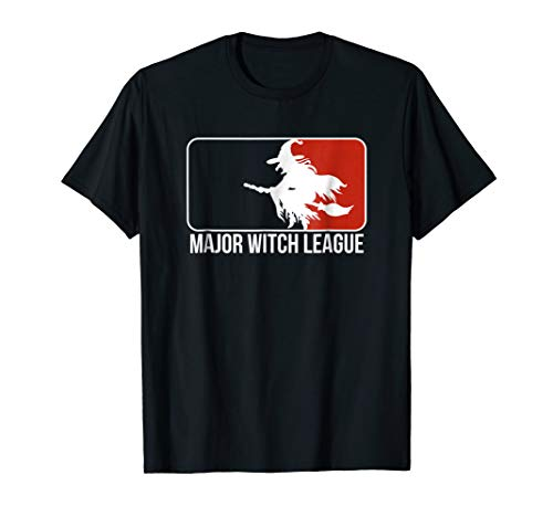 Major Witch League! Funny Halloween Witches T-Shirt