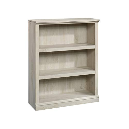 Sauder 3 Shelf Bookcase, Chalked Chestnut finish
