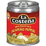 La Costena Sliced Jalapeno 7.0 Oz