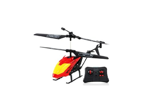 Get Lead Honor LH1302 2-channel Infrared RC Bump-proof Helicopter with Gyroscope (Red)
