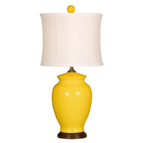 Mimosa Ginger (Ginger Jar Table Lamp (Mimosa) (18