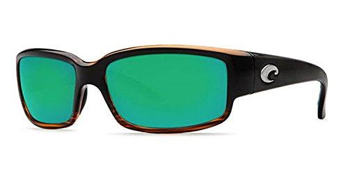 Polarized Green Mirror 400 Glass - Costa Del Mar Sunglasses - Caballito- Glass / Frame: Coconut Fade Lens: Polarized Green Mirror 400 Glass
