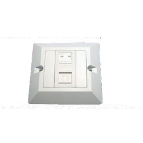cat5e quad 4 socket rj45 ethernet network face plate amazon co uk cat5e single socket rj45 ethernet network face plate