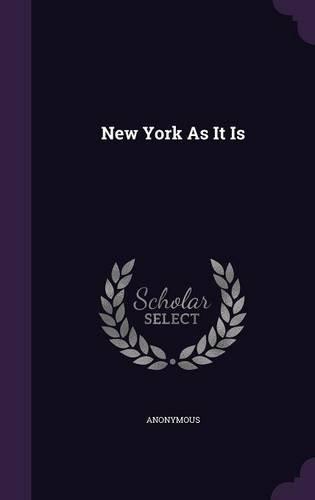 New York As It Is pdf