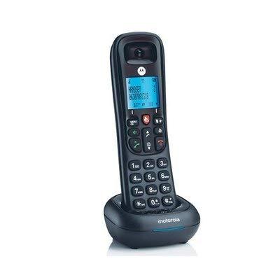 Tel/éfono Dect inal/ámbrico Color Negro Motorola CD4001 50 contactos, Manos Libres, funci/ón Alarma