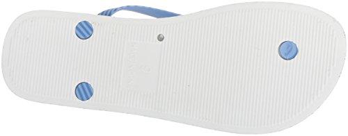 Nautica Women's Mainsheet 2 Flip-Flop Hydro Blue NiwTM