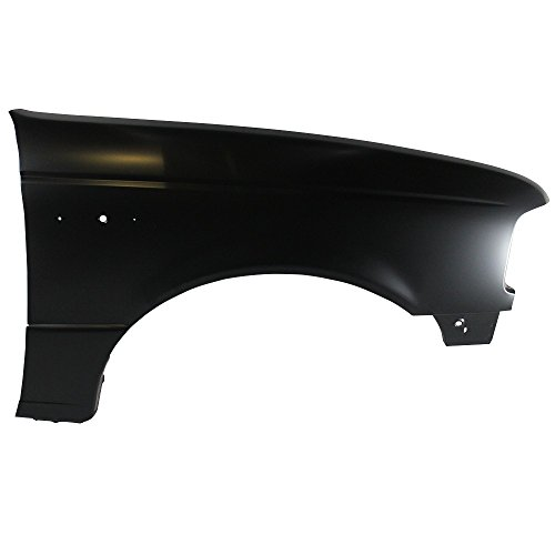 Titanium Plus Autoparts, 1993-1997 Fits For Ford Ranger Front,Right Passenger Side FENDER WITHOUT WHEEL OPENING MOULDING ()