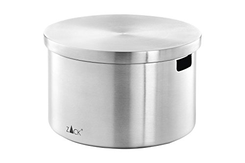 ZACK 24010 CERA sugar/parmesan pot